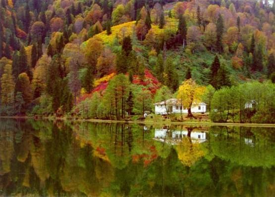 Cennetin yeryüzünde yansıması