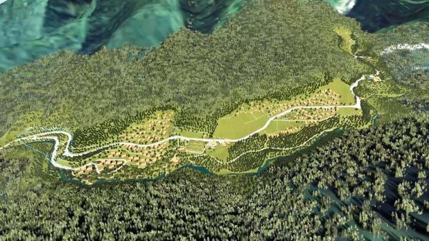 Çamlıhemşin ilçesinde bulunan Ayder Yaylası, 1987 yılında Bakanlar Kurulu kararıyla 'turizm merkezi' ilan edildi.
