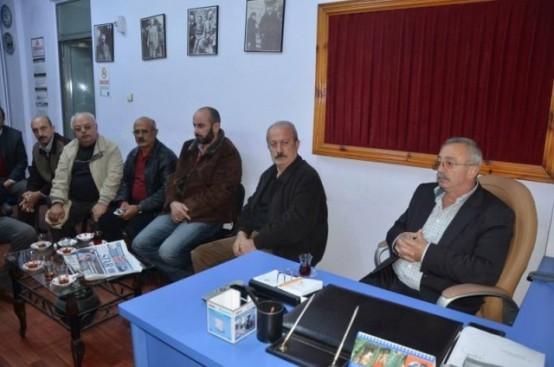 MHP Ziyaretlere Başladı