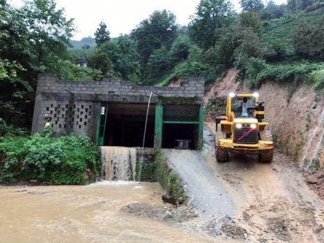 Şiddetli Yağmur Rize'yi Esir Aldı. Onlarca Ev Boşaltıldı