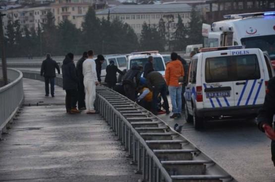 Rize'nin Ardeşen ilçesinde meydana gelen kazada bir polis ağır yaralandı.