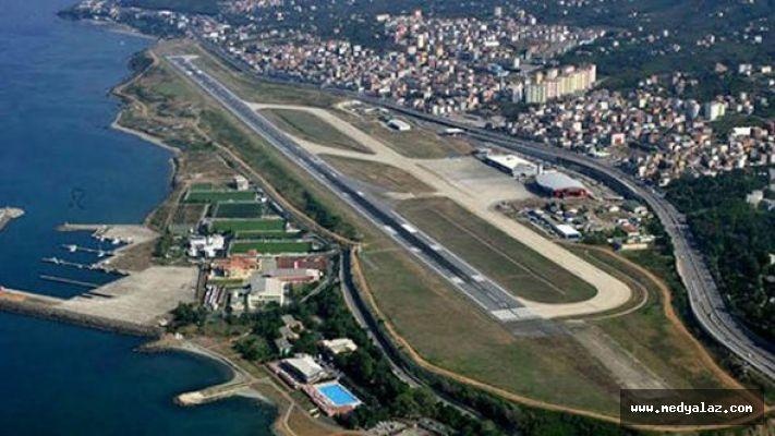 Trabzon Havalimanında Yarınki Bütün Uçuşlar İptal
