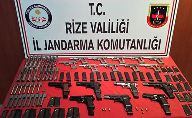 Ardeşen'de Kaçak Silah Atölyesi Ortaya Çıkarıldı
