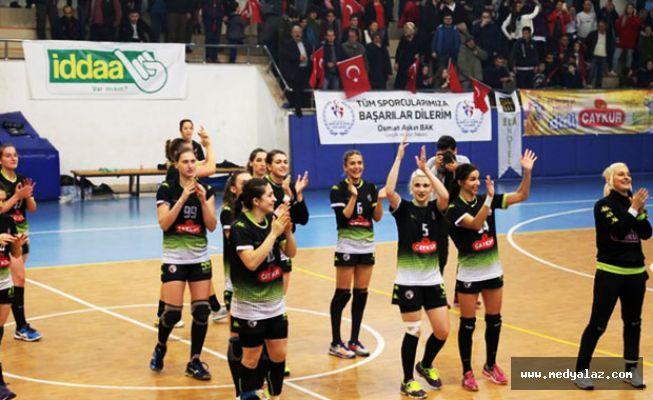 Ardeşen GSK Avrupa'da Destan Yazdı Çeyrek Finale Yükseldi