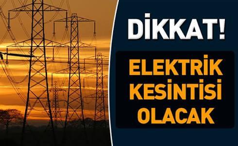 Ardeşen ve Çamlıhemşin'de Elektrik Kesintisi.