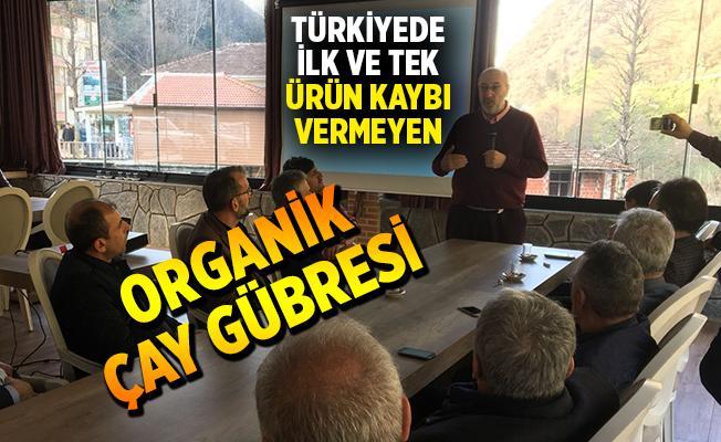 Türkiyede İlk ve Tek Ürün Kaybı Vermeyen Organik Gübre...