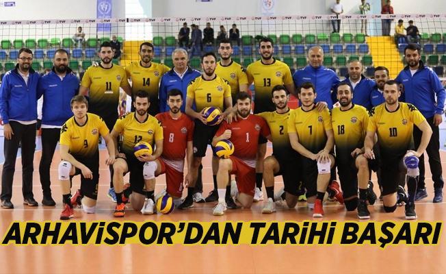 Arhavi Belediyespor Voleybolda Tarihi Başarı