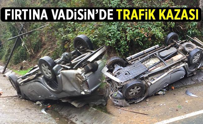 Çamlıhemşin Yolunda Trafik Kazası