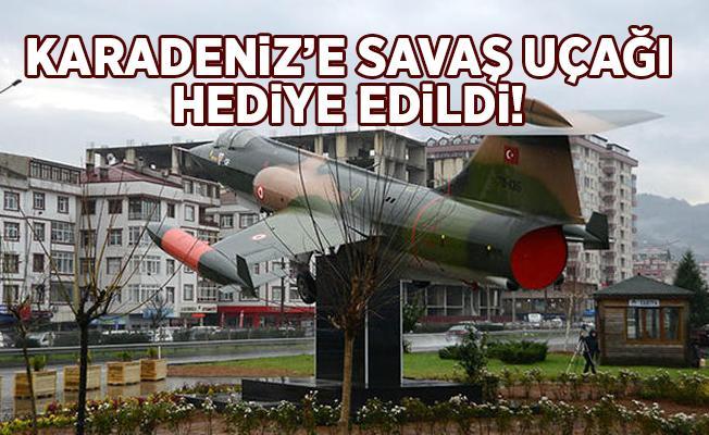 Hava Kuvvetleri Komutanından Karadenize Savaş Uçağı Hediye.