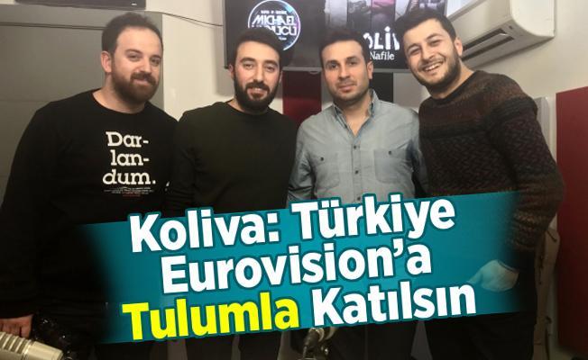 Koliva: Türkiye Eurovision'a Tulumla Katılsın