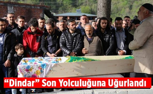 Resul Dindar'ın Kazada Ölen Annesi Toprağa Verildi