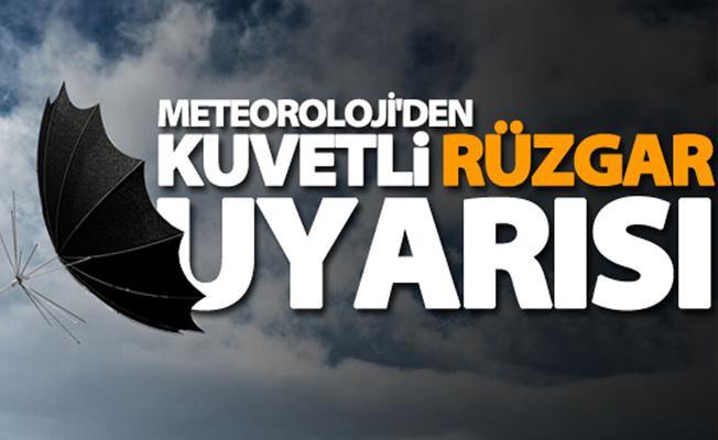 Rize'de Kuvvetli Rüzgar Ve Fırtına Uyarısı