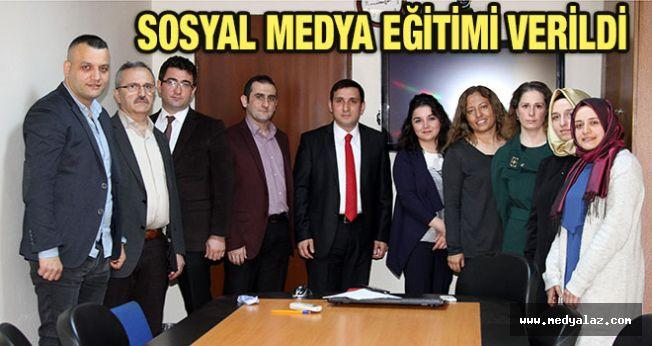 Rize'de `Sosyal Medya Eğitimi` Verildi