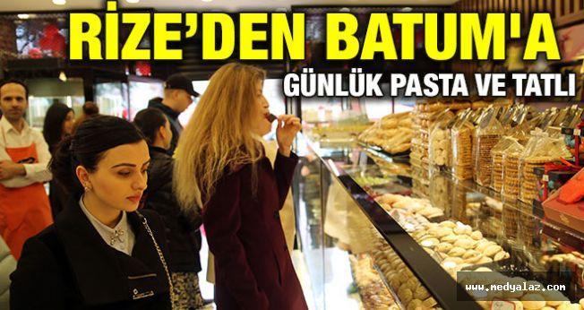 Rize'den Batum`a Günlük Pasta Ve Tatlı