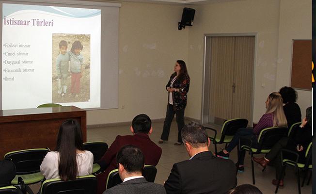 Sağlık Çalışanlarına Çocuk İstismarı ve Mahremiyet Eğitimi Verildi