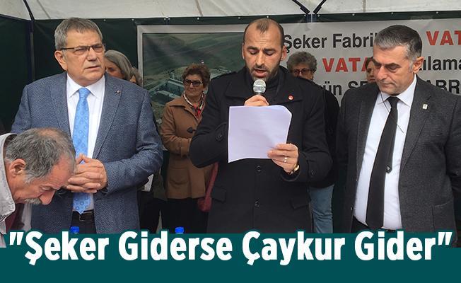 """""""Şeker Giderse Çaykur Gider"""" İmza Kampanyası"""