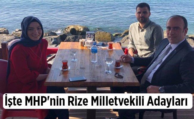 İşte MHP'nin Rize Milletvekili Adayları