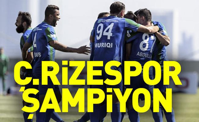Şampiyon Çaykur Rizespor