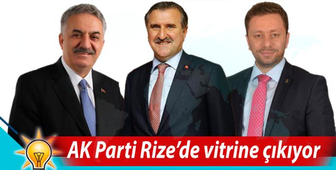 AK Parti Rize adayları tanıtım toplantısı