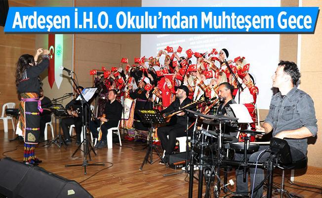 Ardeşen Belediyesi'nde Türk Halk Müziği'nin sesleri yankılandı