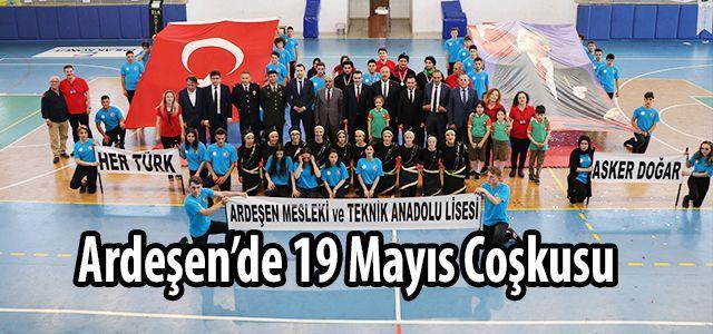 Ardeşen'de 19 Mayıs Atatürk'ü Anma Gençlik ve Spor Bayramı Kutlamaları