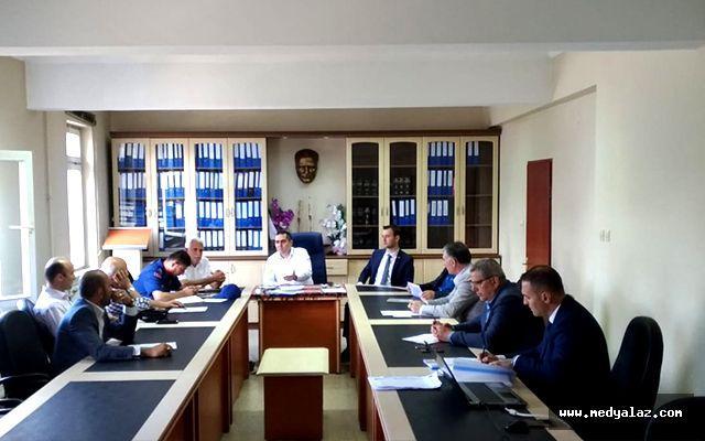 Ardeşen'de Seçim Güvenliği ve Bilgilendirme Toplantısı Yapıldı
