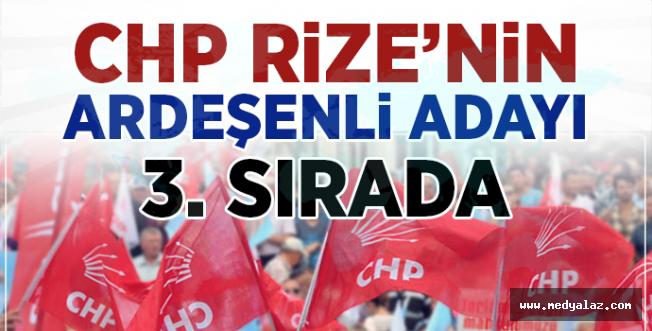 CHP'nin Rize adayları belli oldu