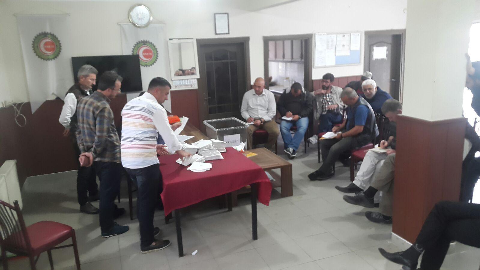 Bölge başkanı orhan topaloğlu'nun fabrikası sendika seçimini paket çıkardı