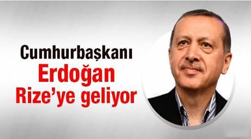 Rize ve Trabzon'da Çifte Bayram! Cumhurbaşkanı Erdoğan Geliyor