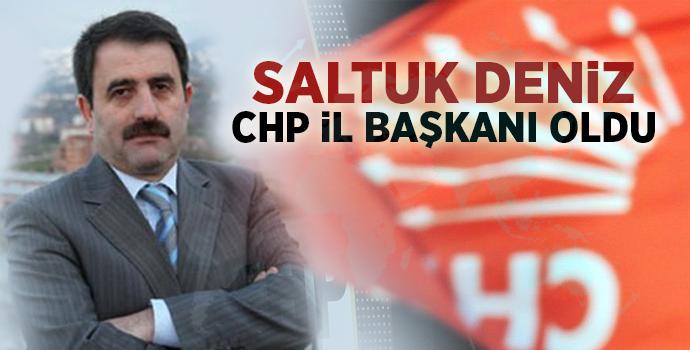 Saltuk Deniz, CHP Rize İl Başkanı Oldu