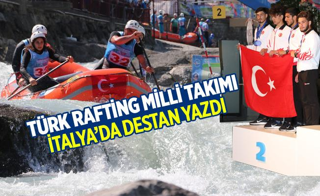 2018 Dünya Rafting Şampiyonasın da Türkiye Destan Yazdı