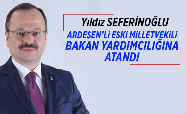 Ardeşenli isim Adalet Bakanlığı Bakan Yardımcılığına atandı