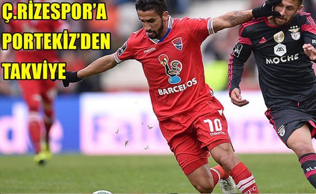 Ç.Rizespor Ruben Riberio ile Anlaştı
