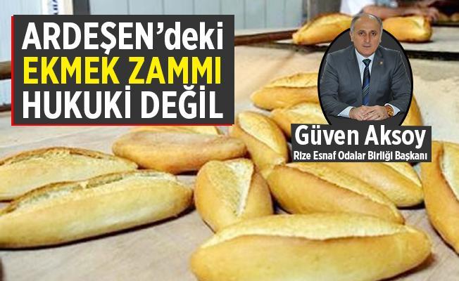 Ardeşen'de ekmek zammı muamması!