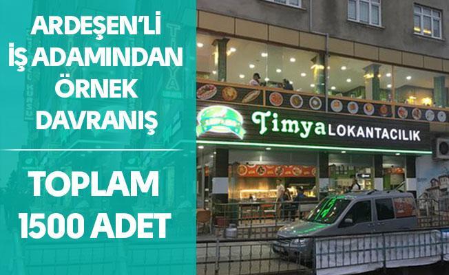 Ardeşen'de Timya Lokantacılık Geleneği Bozmadı...