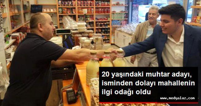 Gölcüklü Recep Tayyip Erdoğan, Muhtar Adayı Oldu