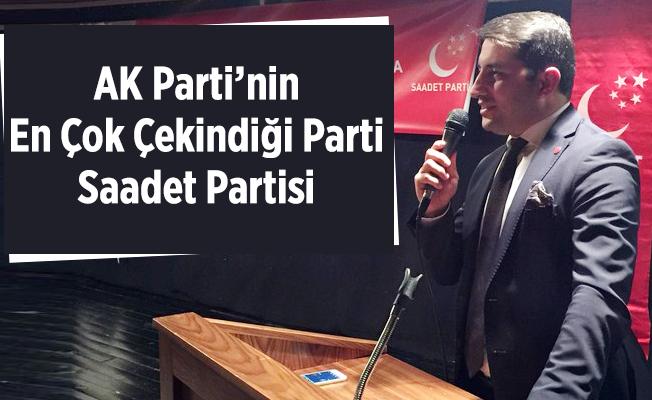 SP'li Aydın: AK Parti'nin En Çok Çekindiği Parti Saadet Partisi'dir