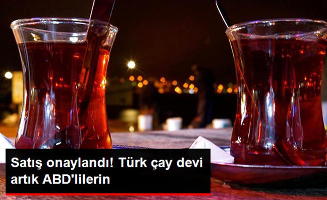 Türk Çayına ABD eli değdi...