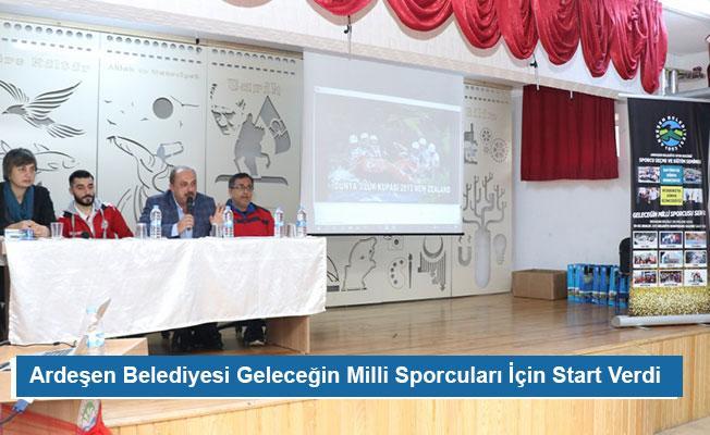 Ardeşen Belediyesi Geleceğin Milli Sporcuları İçin Start Verdi