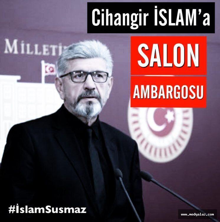 Milletvekili Cihangir İslam'ın Ardeşen'deki Konferans Yeri İptal Edildi