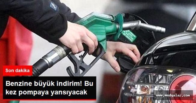 Son Dakika! Benzin Fiyatlarına 17 Kuruşluk İndirim Geldi! Bu Gece Pompaya Yansıyacak