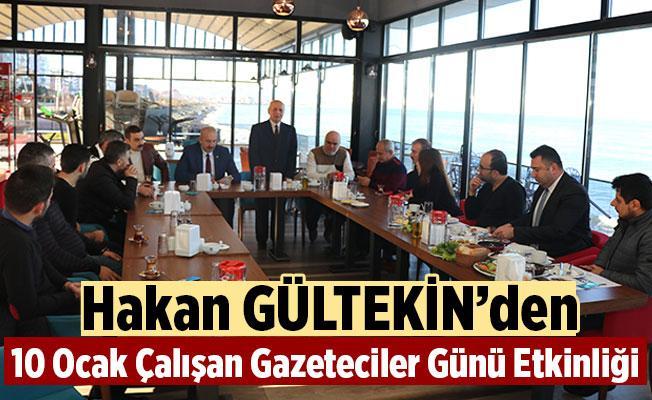 Başkan Gültekin'den 10 Ocak Çalışan Gazeteciler Günü Etkinliği