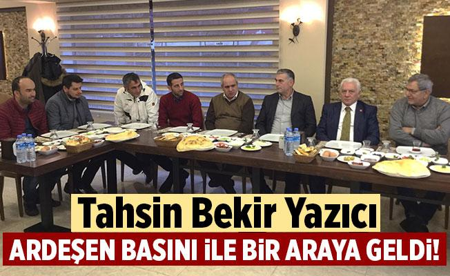 Tahsin Bekir Yazıcı Basın Emekçileri ile Kahvaltı'da Bir Araya Geldi.