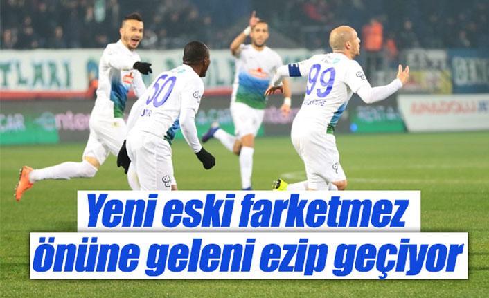 Çaykur Rizespor Evkur Yeni Malatyaspor maç sonucu