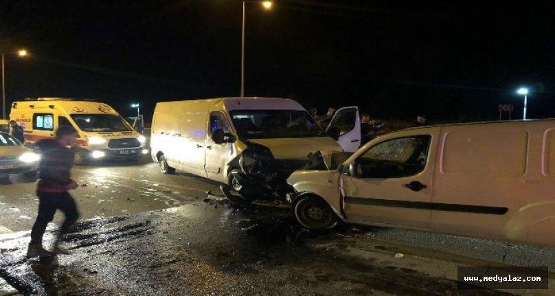 Pazar'da trafik kazası: 1 ölü, 1 ağır yaralı