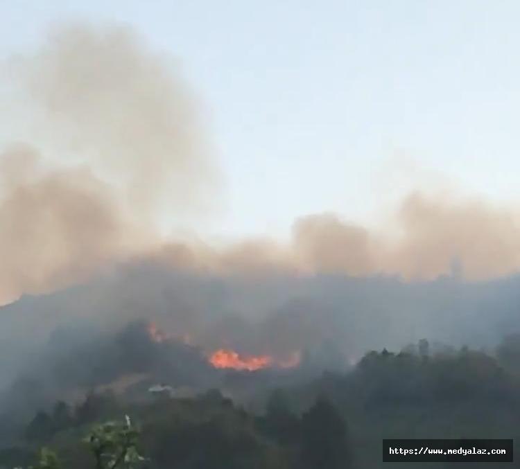Ardeşen'de İftarda Korkutan Yangın