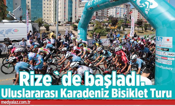Pedallar Karadeniz`de Dönüyor