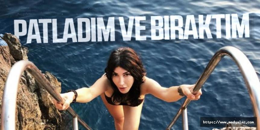 Hande Yener: Patladım ve bıraktım