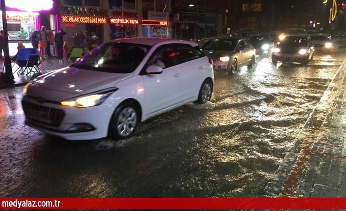 Şiddetli Yağmur Rize'yi Göle Çevirdi!