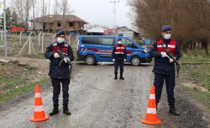Giresun'da bir köy karantina altına alındı